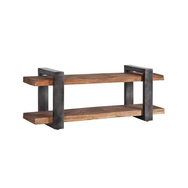 Eleonora TV-meubel 'Rayan' Industrieel, 150cm, kleur metaal