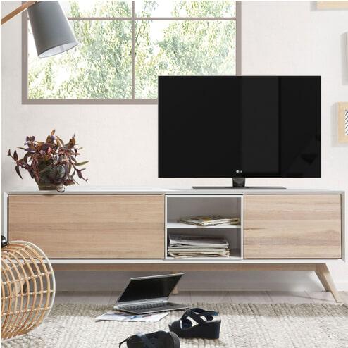 Kave Home Tv-meubel 'Eunice' 174 cm