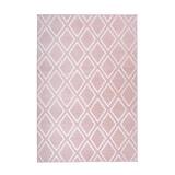 Kayoom Vloerkleed 'Monroe 300' kleur roze, 80 x 150cm