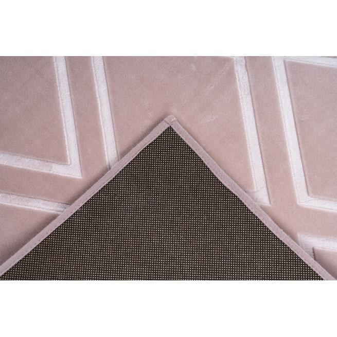 Kayoom Vloerkleed 'Monroe 300' kleur roze