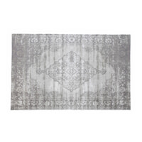 Brix Vloerkleed 'Kelly' 170x240 cm, kleur Charcoal Grey