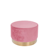 Kayoom Poef 'Nina' 55cm, kleur roze