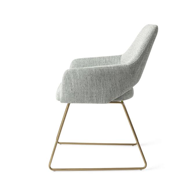 Jesper Home Eetkamerstoel 'Yanai' Slide Gold