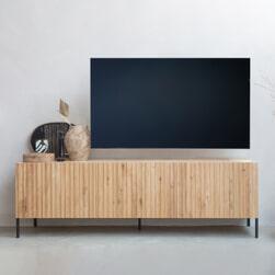 WOOOD TV-meubel 'Gravure' 180cm, kleur Naturel
