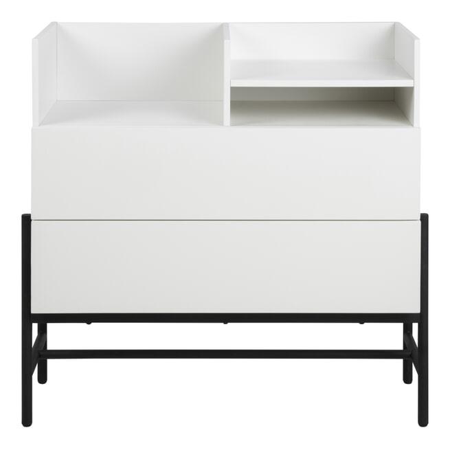 Interstil Ladenkast 'Norse' 95cm, kleur Wit