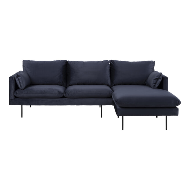 Bendt Loungebank 'Isabella' kleur Donkerblauw