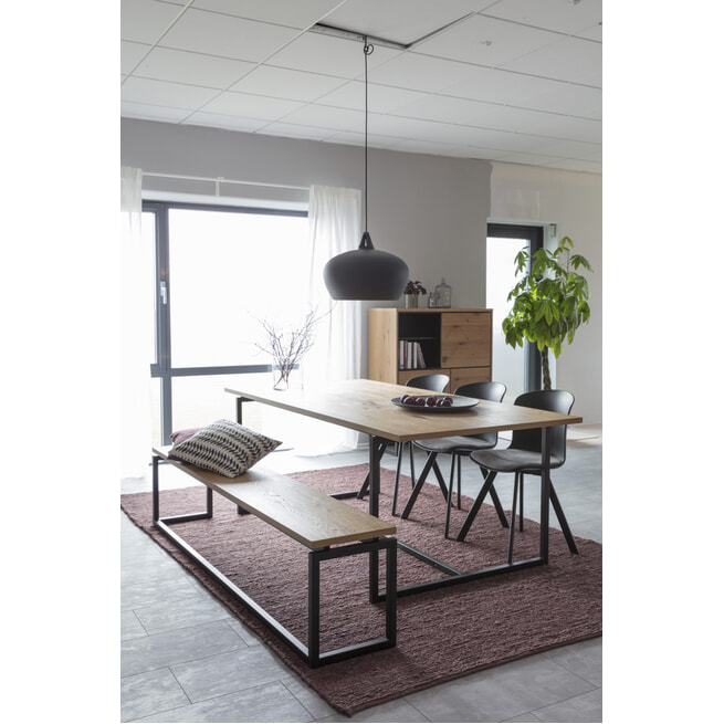 Interstil Eettafel 'Dalarna' Eiken, 160 x 75cm