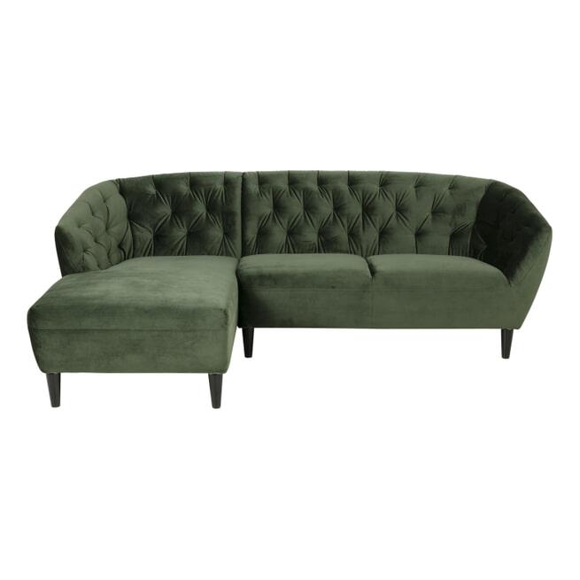 Bendt Loungebank 'Loes' kleur Forest green