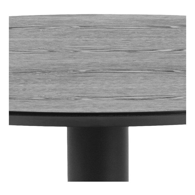 Bendt Ronde Bistrotafel 'Ina' 80cm, kleur Zwart