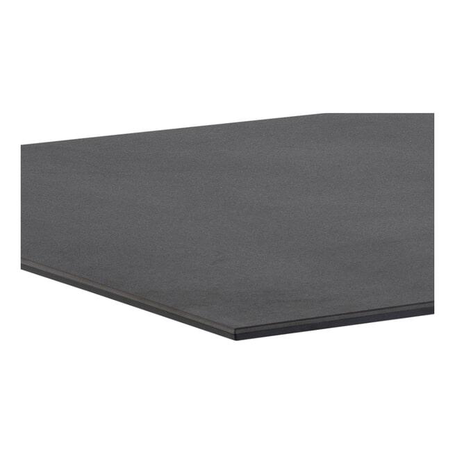 Bendt Eettafel 'Line' Zwart Marmer, 200 x 100cm