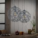 Hanglamp 'Bridget' 2-lamps x Ø40cm