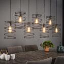 Hanglamp 'Curl' 7-lamps x Ø20cm