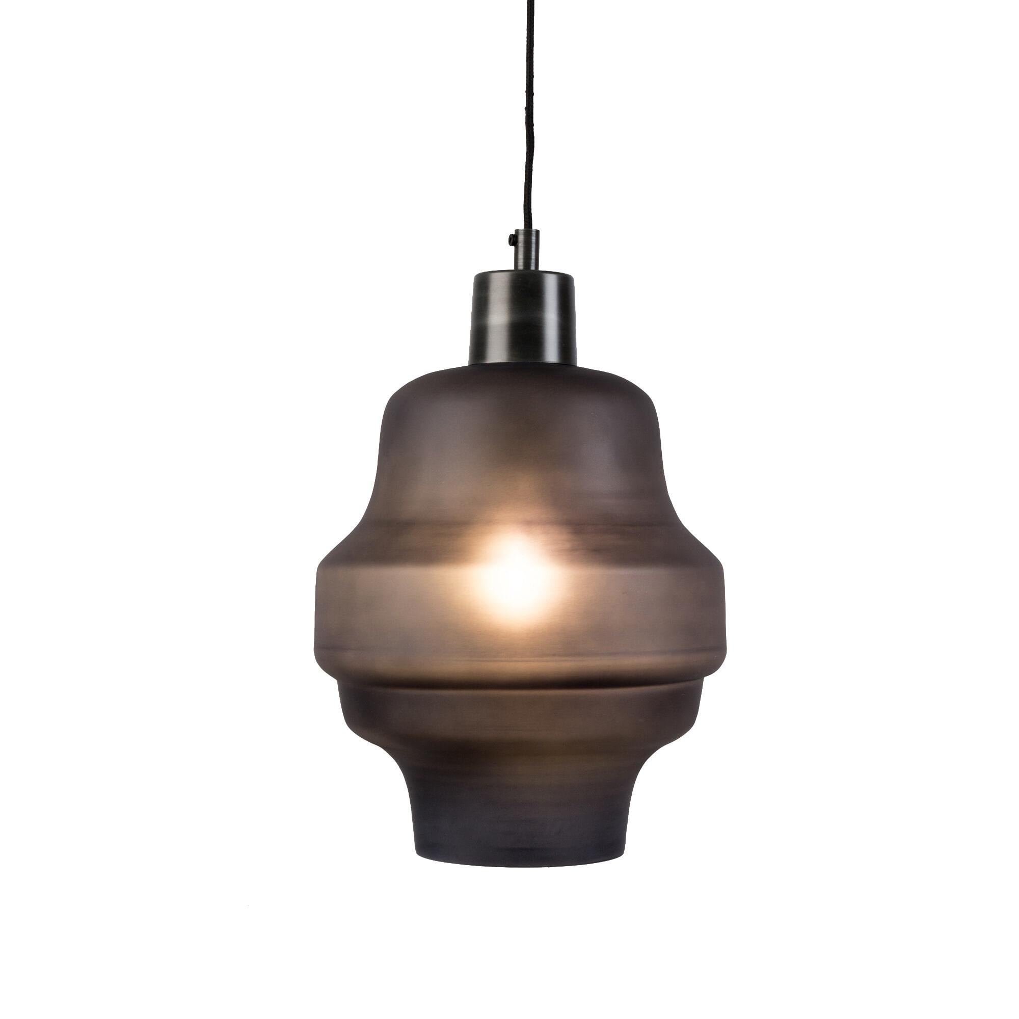 Hanglamp 'Dovydas' 26cm, kleur Antraciet