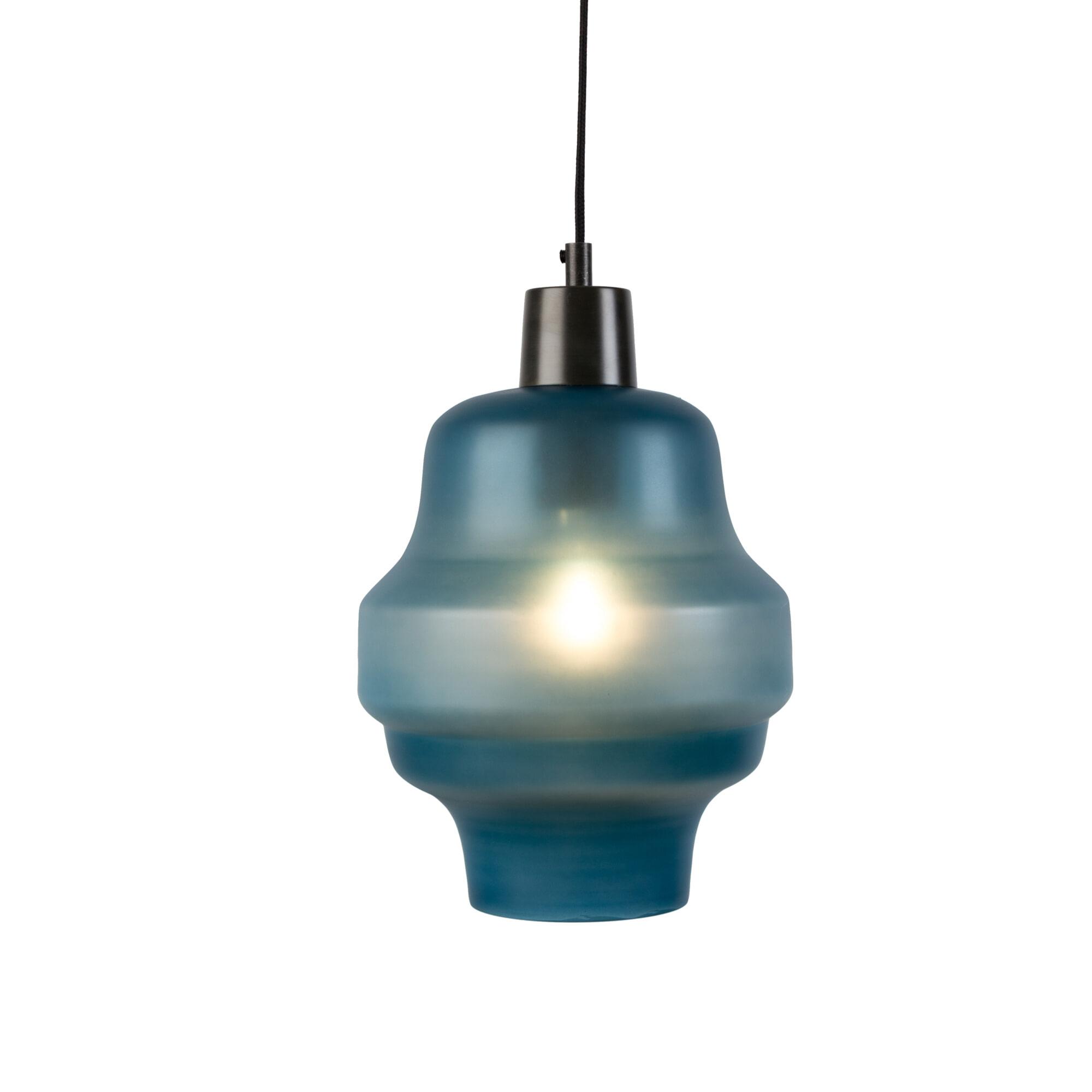 Hanglamp 'Dovydas' 26cm, kleur Blauw