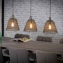 Hanglamp 'Edmund' Gaas 3-lamps x Ø30cm