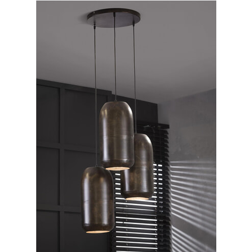 Hanglamp 'Haing' 3-lamps