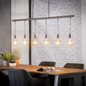 Hanglamp 'Hume' met 6 hangende fittingen