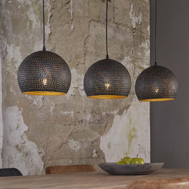 Hanglamp 'Murray' 3-lamps