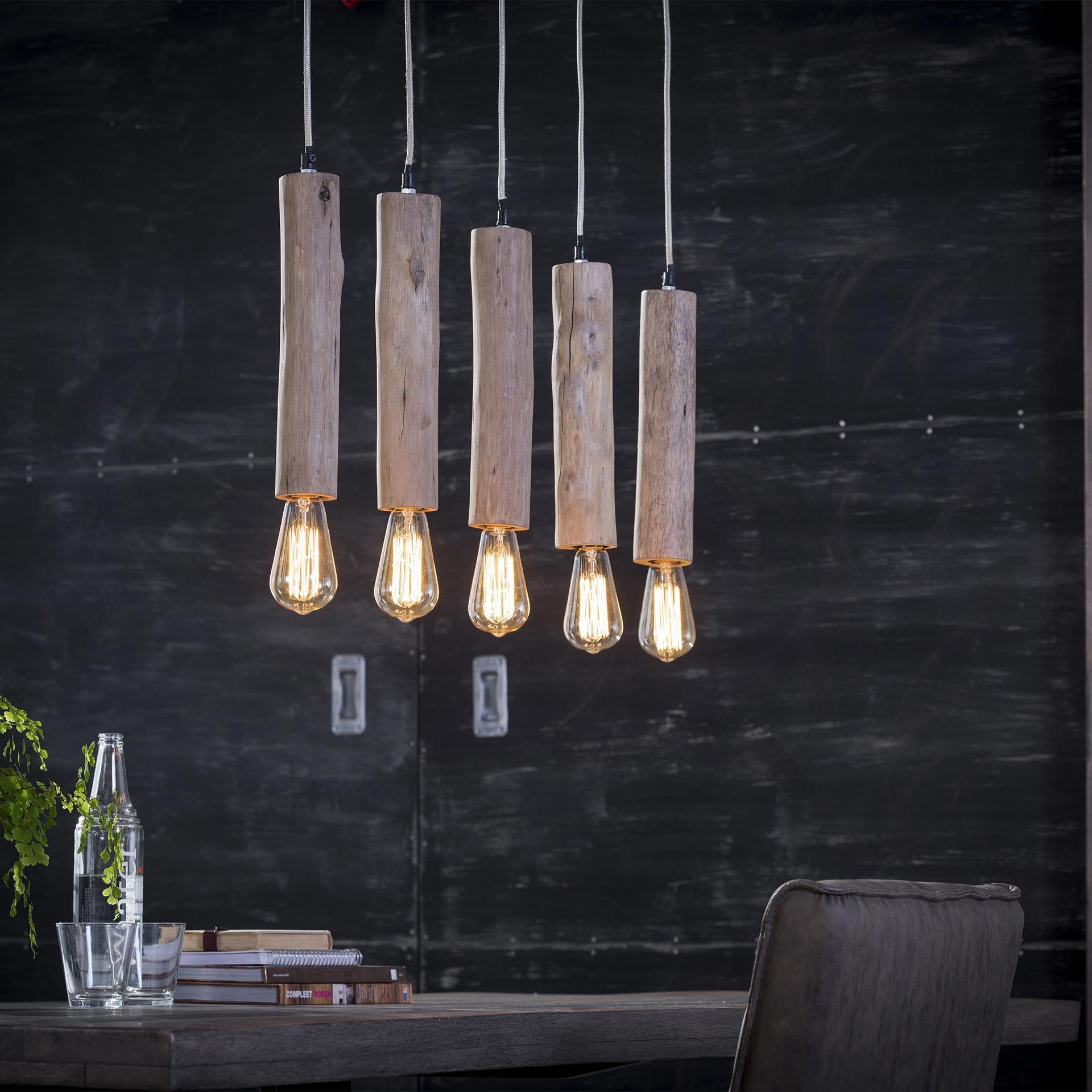 Hanglamp 'Nicolas' 5-lamps