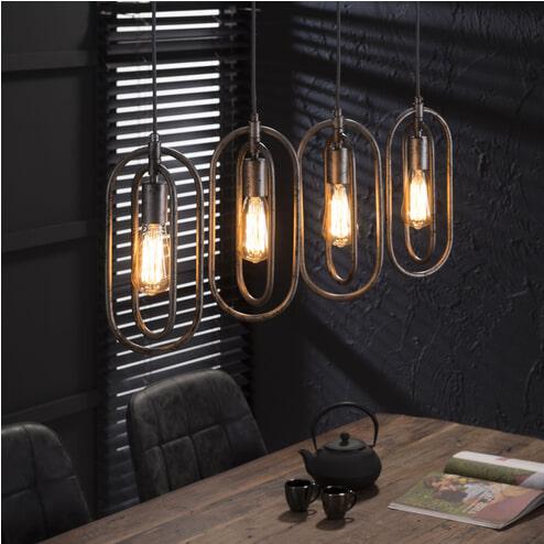 Hanglamp 'Roberto' 4-lamps