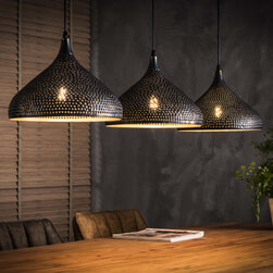 Hanglamp 'Romola' 3-lamps