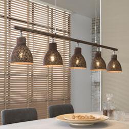 Hanglamp 'Roscoe' 5-lamps