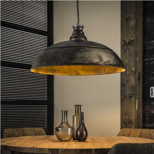 Hanglamp 'Stewart' oud zilver, Ø80cm
