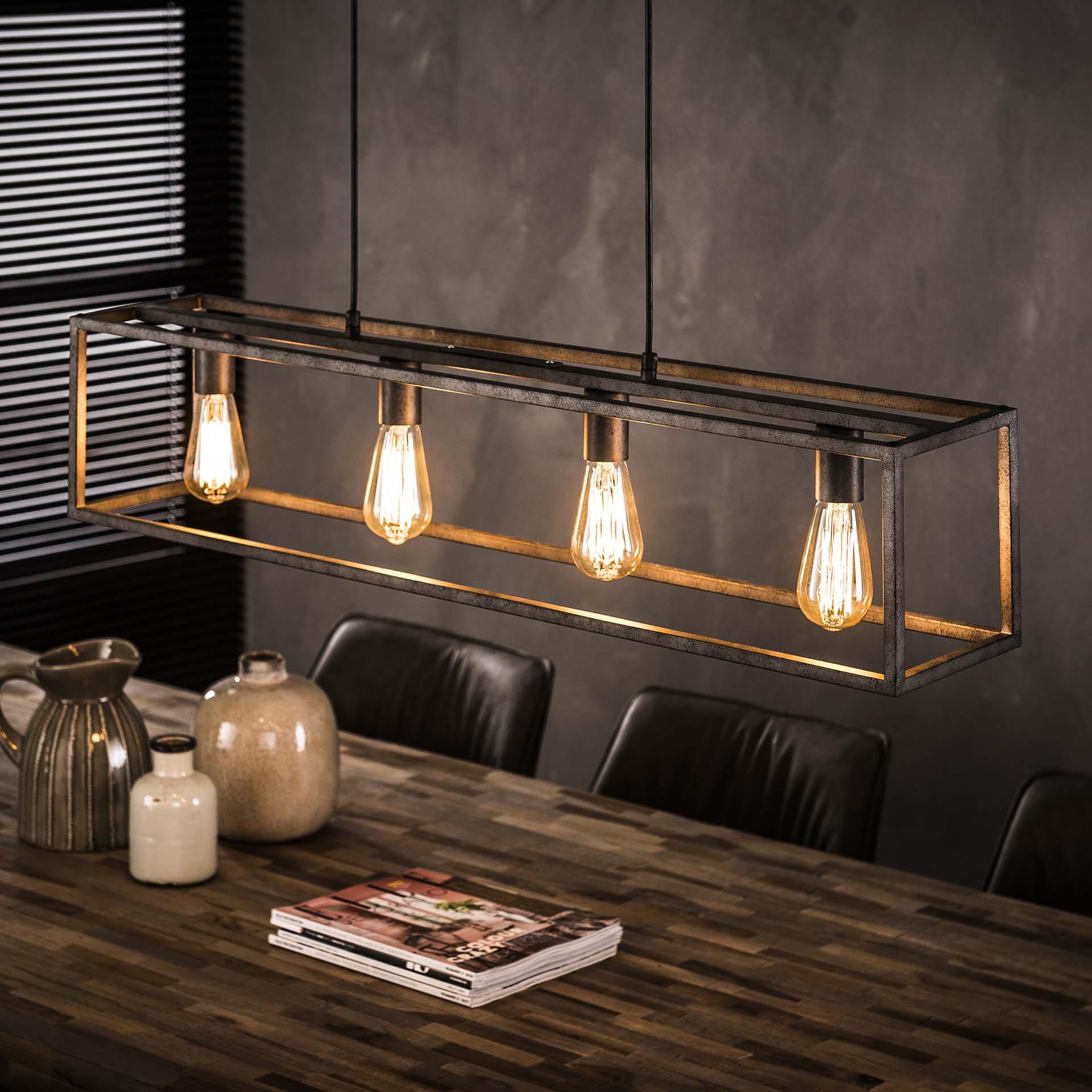 Hanglamp 'Veronica' 4-lamps, 98cm