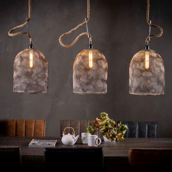 Hanglamp 'Wagner' 3-lamps