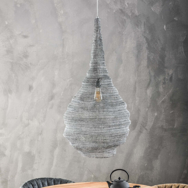 Hanglamp 'Zachary' gaas, Ø50 cm