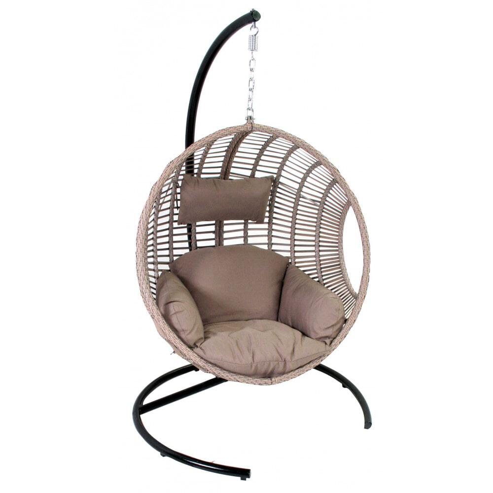 Witte Standaard Voor Hangstoel.Sens Line Hangstoel Dusty Kleur Zand Ss 15003 Meubelpartner