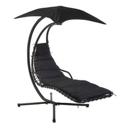 SenS-Line Hangstoel 'Honolulu' kleur zwart