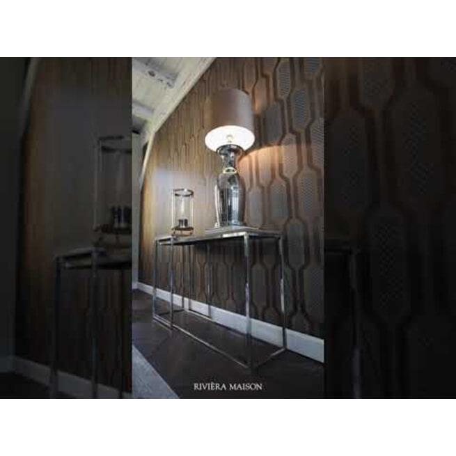 Rivièra Maison Bijzettafel 'Bushwick' Set van 2 stuks, 83/77cm