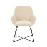 Barkruk 'Mikky' Velvet, kleur donkerblauw (zithoogte 68, 72, 79cm)