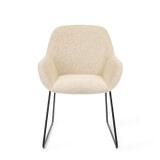 Barkruk 'Mikky' Velvet, kleur groen (zithoogte 68, 72, 79cm)