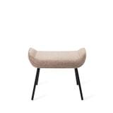 Barkruk 'Mikky' Velvet, kleur zwart (zithoogte 68, 72, 79cm)