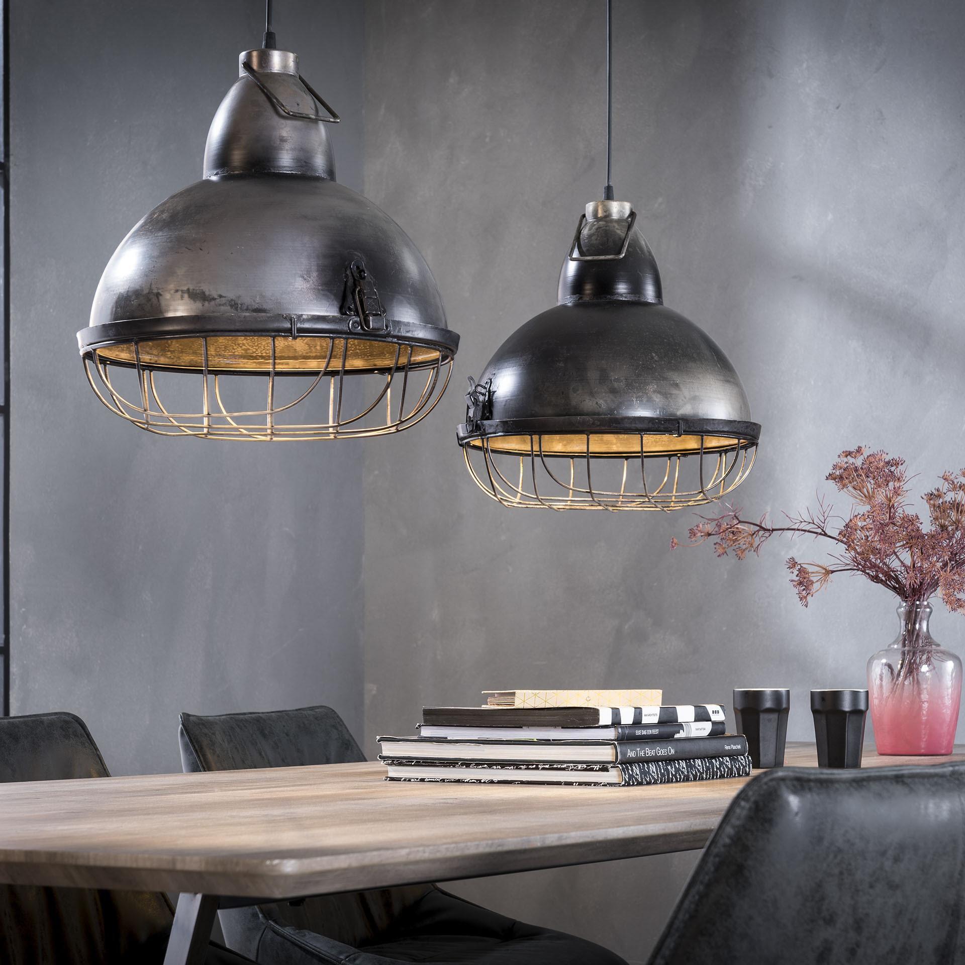 Industri�le Dubbele Hanglamp 'Stephen', 2 x 38cm