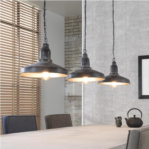 Industriële Hanglamp 'Atticus' 3-lamps