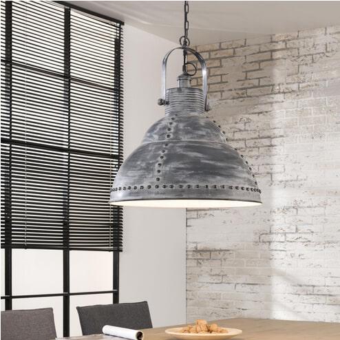 Industriële Hanglamp 'Ike' 51cm