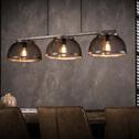 Industriële Hanglamp 'Lee' 3-lamps Ø35cm