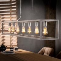 Industriële Hanglamp 'Terrance' 7-lamps