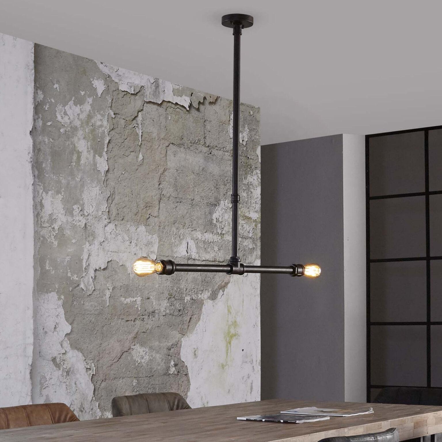 Industriële Hanglamp 'Vito' Verlichting | Hanglampen vergelijken doe je het voordeligst hier bij Meubelpartner