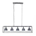 Industriële Hanglamp 'Wendell' 5-lamps