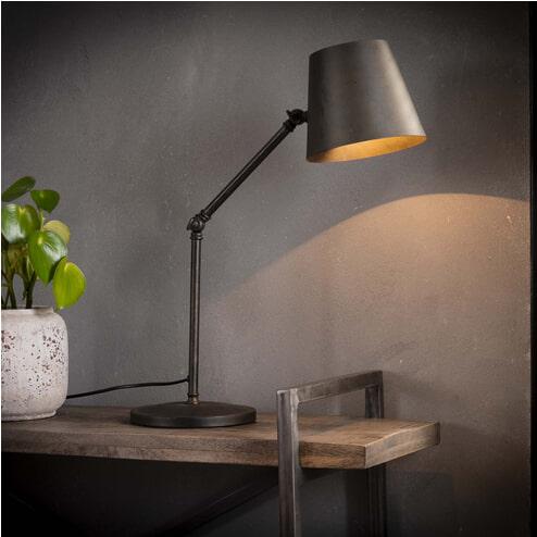 Industriële Tafellamp / Bureaulamp 'Heath'