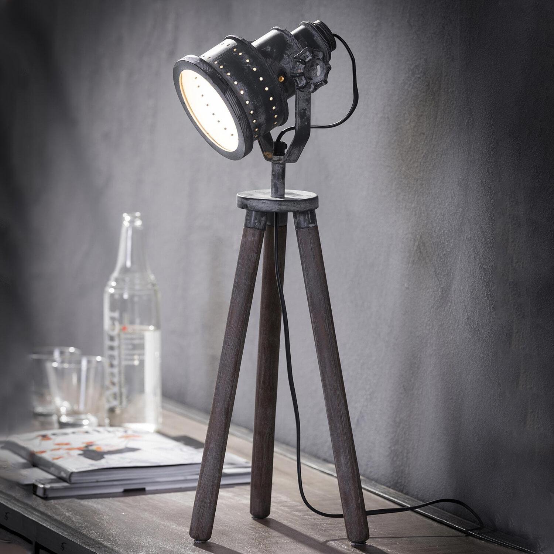 Industriële Tafellamp 'Tanner' Verlichting   Tafellampen vergelijken doe je het voordeligst hier bij Meubelpartner