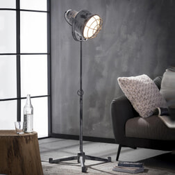 Industriële Vloerlamp 'Gary'