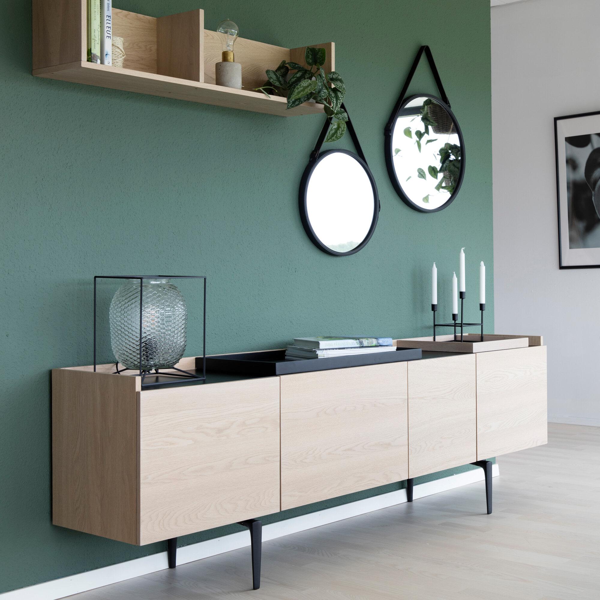 Interstil Dressoir 'Connect' eiken, 200cm