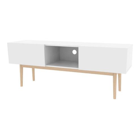Interstil TV-meubel 'Bergen' 150cm, kleur wit