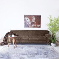 SEVN Bank 'Iris' 4-zits, kleur bruin