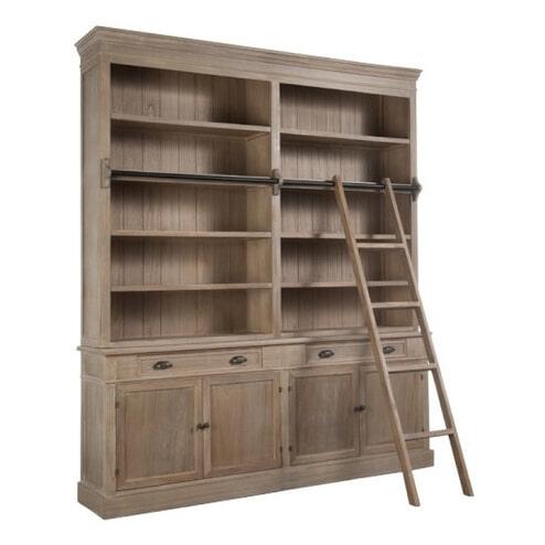 j line boekenkast teresa met ladder